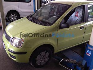 Sostituzione ammortizzatori anteriori Fiat Panda