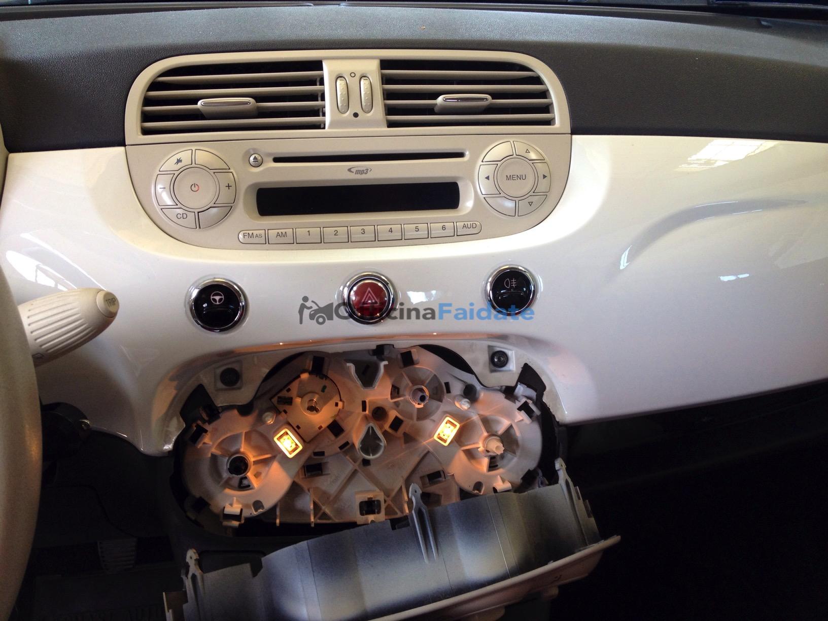 Lampadine cruscotto Fiat 500-2
