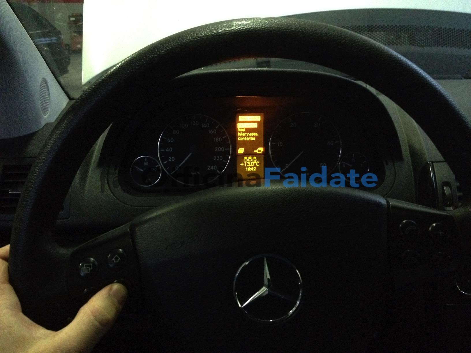 Azzeramento service Mercedes classe A