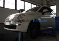 Sostituzione pastiglie freni Fiat 500