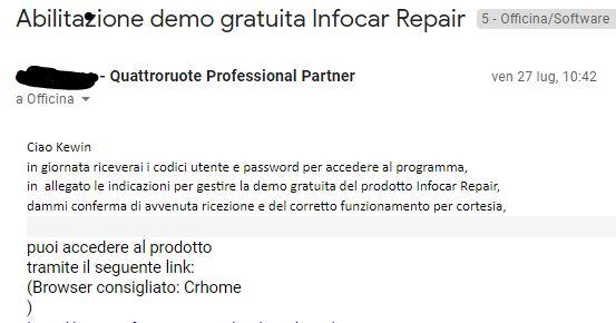Demo gratuita Infocar Repair