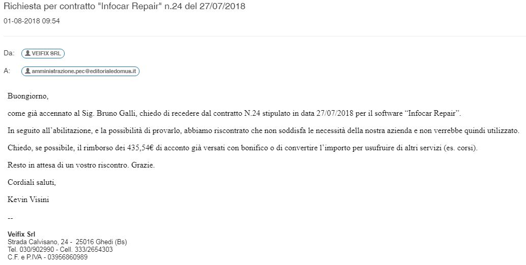 PEC Infocar Repair