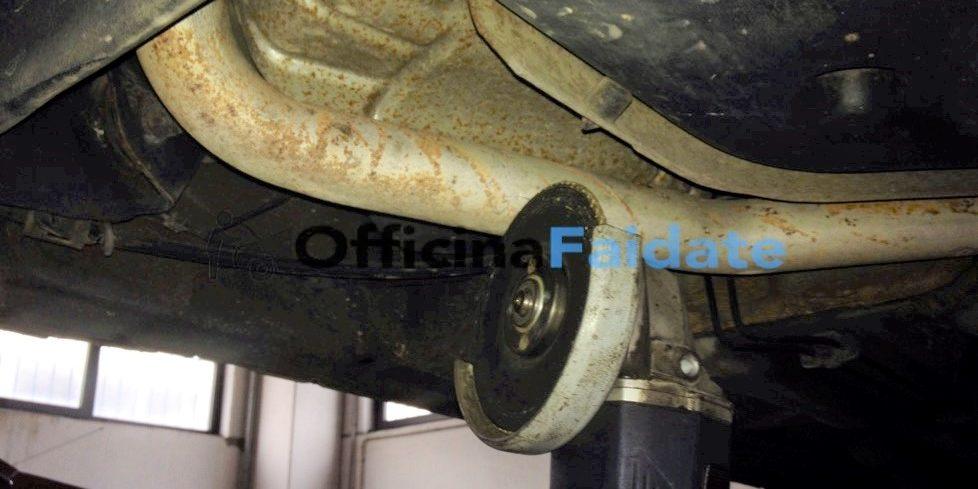Sostituzione terminale di scarico Fiat Punto-2